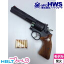 【Hartford HWS(ハートフォード)】スマイソン 木製グリップ付 HW 6inch(発火式モデルガン・完成)【05P03Dec16】