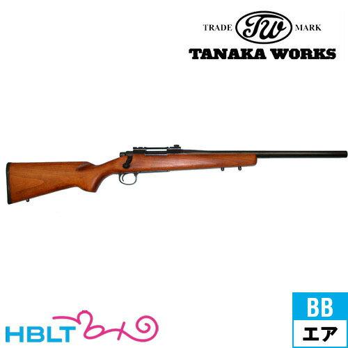 【タナカワークス(Tanaka)】Remington M700 LTR 木スト(エアーガン/コッキング式ライフル本体)/田中ワークス