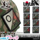 【LayLax(Guns N Dice)】パッチ 血液型(JSD)/ライラクス ガンズアンドダイス/自衛隊迷彩/ベルクロ/Blood Type