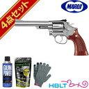【東京マルイ】S W M66 6インチ ステンレス ガスリボルバー スターターセット/SW/Revolver/Kフレーム/M19のシルバーモデル/Silver/エアガン/ハロウィン/コスプレ