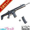 KSC MASADA Black マガジンセット(ガスブローバック本体+純正マガジン)/マサダ/エアガン