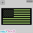 パッチ MSM ミルスペックモンキー US FLAG GLOW-IR TOOLS Black / Glow /ミリタリー MIL-SPEC MONKEY ベルクロ パッチ ワッペン 反射 暗視 アメリカ USA 国旗 サバゲ 装備 サバゲー