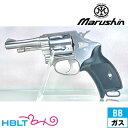 マルシン ポリスリボルバー Xカート仕様 HW製グリップ仕様 ABS シルバー 3インチ(ガスガン リボルバー 本体 6mm) /Police Revolver 警察/ハロウィン コスプレ 仮装 衣装