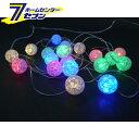 室内用 LED クラックキャンディライト 20球 電池式 (...