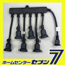 コードアクセサリー 6分配コード・防水丸型プラグタイプ ブラ...