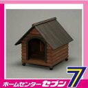 【送料無料】 ログ犬舎 ダークブラウン LGK-750 アイリスオーヤマ [LGK750]-商品代購