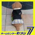 【ra13010b】エンブレムチェックスカートワンピース/ブラック(XS-XLサイズ)【ルイスペット】 ドッグウェア [犬 犬用品 犬 服 犬の服 ドッグウェア] 【メール便送料無料】【代金引換不可】【RCP】