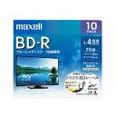 日立マクセル(maxell ) 録画用 BD-R 4倍速 10枚入 BRV25WPE.10S
