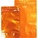 ■セイニチ 「ラミジップ」 アルミカラースタンドタイプ 橙 160×120+35 (50枚入)〔品番:AL1216OR〕【1949086:0】
