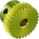 ■KG ウォームギヤ モジュール0.5 黄銅 G50B20-P-R1 協育歯車工業(株)