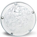 【ArlenNess/アレンネス】0940-0991 03-599 Engraved・タイマーカバー クローム