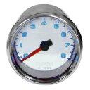 AutoMeter タコメーター 2-5 / 8インチ ホワイトパネル