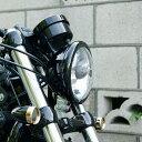 【キジマ/Kijima】HD-01550 ヘッドライトベゼル ブラック