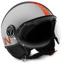 【MOMO DESIGN】ジェットヘルメット FGTR EVO メタル
