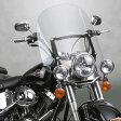 【ナショナルサイクル】N21200 スパルタン・ウインドシールド FLソフテイル用 デタッチャブル トール高 ナショナルサイクル