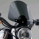 ナショナルサイクル(National Cycle) GLADIATOR・コンパクト・ウインドシールド XL1200L,XL883N,XL1200N, '06〜'10FXD用