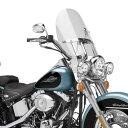 【Memphis Shades】FLHR リプレイスメントウインドシールド 432mm高 メンフィスシェード Harley ハーレー