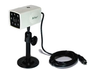 家庭用 防犯カメラ AT-1200   【防滴】【ケーブル付き】