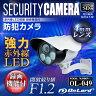防犯カメラ sdカード録画 屋外 監視カメラ (OL-049) 強力赤外線LEDライト 24時間常時録画 暗視撮影 防水防塵 監視カメラ オンロード OnLord