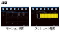 防犯カメラ監視カメラ【4台】録画セットハイビジョン防犯カメラAHDスターターパックver2015CK-AHD01HD(2TB)