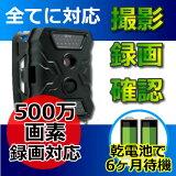 防犯カメラ 電池式 SDカード録画 500万画素 ワイヤレス 送料無料【CK-S680】 屋外対応 トレイルカメラ