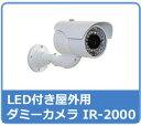 ダミーカメラ LED付き屋外用 IR-2000