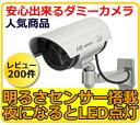 防犯カメラ 監視カメラ ダミー ダミーカメラ 屋外タイプ 送料無料 ダミーカメラ