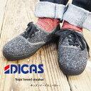 DICAS ディカス ネップツイードスニーカー 3IMPK1...