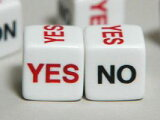 YES NO ダイス