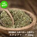 【国産無農薬 無化学肥料】ステビアリーフ100g(熊本県産)/ノンカロリー 天然の甘味料 糖