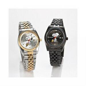 【クーポン獲得】【4980円以上送料無料】スヌーピー世界限定腕時計チャーミングアイウォッチホワイト 2個セット