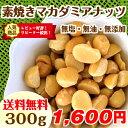 マカダミアナッツ 素焼きマカダミアナッツ 300g (無塩 無添加 無油)【送料無料】オーストラリア産 健康 美容 ダイエット