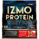イズモ IZMO ホエイプロテイン100 ストロベリー 350g - アルプロン