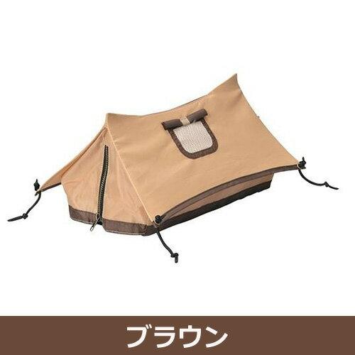 ティッシュケース テント ブラウン・SF-3851-BR-180 - セトクラフト