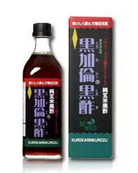 黒加倫黒酢 500ml - ビーワイルド