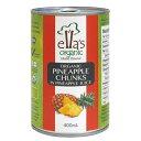 オーガニックパインアップル缶詰 400g - アスプルンド