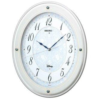 迪士尼掛鐘迪士尼公主時鐘收音機時鐘時尚精工精工時鐘成人迪士尼 FS502W