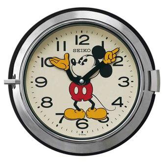 迪士尼掛鐘迪士尼米老鼠鐘錶時尚精工精工時鐘成人迪士尼 FS504S