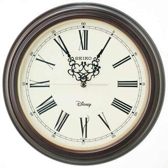 迪士尼時鐘迪士尼米奇老鼠及美妮老鼠時鐘收音機時鐘時尚木結構精工精工時鐘成人迪士尼 FS507B