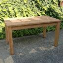 シンプルダイニングテーブル(w120cm)/パイン材  [送料無料!] 無垢テーブル 北欧 ナチュラル テーブル カフェインテリア