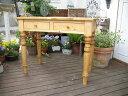 デスク・ろくろ脚 パイン材 テーブル 机 センターテーブル リビングテーブル 北欧 勉強机 作業用テーブル パイン材 組み立て式