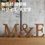 無垢材 木製アルファベット切文字(Sサイズ)『A?Z/&』?対象外?【 05P02jun13】