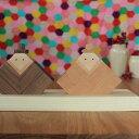 木製おひなさま [送料無料!][6,000円ポッキリ] 雛人形 木製 節句 ひなまつり 三月 北欧 置物