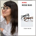EYEWEAR メガネ ROSE BUD BLACK BROWN
