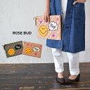 【5,000円(税抜)以上で送料無料】【ROSE BUD】SMILE CLUTCH BAG 【HEART MARKET・ハートマーケット】