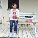 ☆Winter Sale☆【5,000円(税抜)以上で送料無料】【rough】KIDS クマトリョーシカ柄7分袖【HEART MARKET・ハートマーケット】