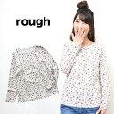 【rough】マスクマンのトリコ インナーロンTレディース/トップス/インナー/マスクマン/ロゴ/Tシャツ/長袖/カジュアル/春/ラフ/rough/総柄/トリコロール