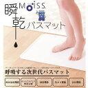 送料無料【モイス(moiss) 瞬乾バスマット Lサイズ】バーミキュライトを主材にしたMoissで作られたバスマット。アスベストを含まない安全な原材料です。
