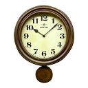 日本製 レトロ電波振り子柱時計 アンティークブラウン DQL669ご注文後、当日〜1営業日後の出荷となります