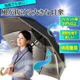 风消掉的大的阳伞[風が抜ける大きな日傘]